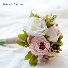 Find More Wedding Bouquets Information about Countryside Style Romantic Artificial Peony Wedding Bouquet 2017 Bridal Hand Bouquets Bridesmaid Bouquets ramo de flores novia,High Quality Wedding Bouquets from modest saying Lacebridal Store on Aliexpress.com
