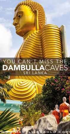 Don't miss the Dambulla Caves in Sri Lanka, easy to visit with Sigiriya find helpful tips, costs, opening times and details.