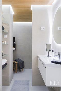 Erilaisilla valaistusratkaisuilla saat kylpyhuoneen näyttämään kylpylältä! #roofgroup #kylpyhuone #kiinteistönvälitys #sisustus #bathroom #decor Bathroom Inspiration, Interior Inspiration, Bathroom Ideas, Bathroom Toilets, Bathrooms, City Living, Helsinki, Bathtub, New Homes
