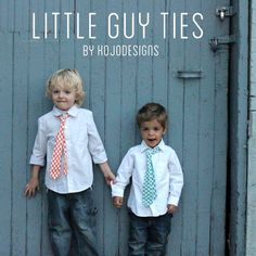 how to make a tie-able little boy's tie