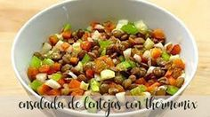 Ensalada de Lentejas con thermomix Kung Pao Chicken, Cooking, Ethnic Recipes, Food, Lidl, Happy, Recipes, Sweet And Saltines, Healthy Recipes