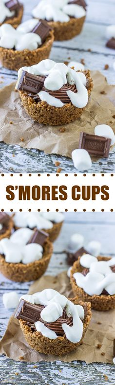 S'mores Cups-no campfire required!