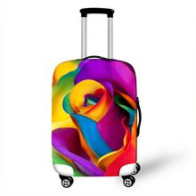 US $14.10 Lady Luggage Cover Protective Suitcase Covers Rose Print Girls Trolley Luggage Dust Protection Covers 18 - 28 Inch High Elastic. Aliexpress product