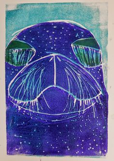 Doodlebug Dabblings: Reduction Prints