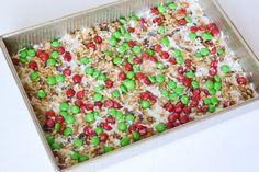 These Christmas magic cookie bars are a perfect treat to serve at a holiday party, just cut into bite size pieces and serve for a delicious holiday treat! Christmas Cupcake Cake, Christmas Party Food, Christmas Treats, Christmas Goodies, Christmas Baking, Gingerbread Truffles Recipe, Oreo Truffles Recipe, Holiday Desserts, Fun Desserts