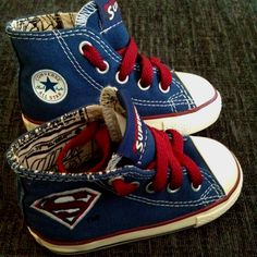 The coolest shoes in the world... :) these would be so awesome for my new nephew or malachi !!!!!