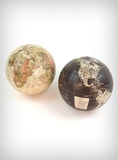 Apothecary Mini Globe Ornament $5