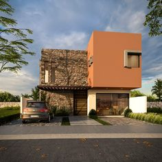 Monuments, Exterior Wall Design, House Painting, Facade, Porch, Sweet Home, House Design, Mansions, Architecture
