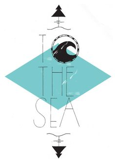 riseoftheswell — themermaidz: An other illustration for a. Three Word Quotes, Surf Art, Surf Style, Ocean Life, Graphic Design Illustration, Under The Sea, Beautiful Beaches, Strand, Surfing
