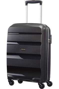 Bon Air 4-wheel Spinner 55cm/20inch Strict cabin baggage Black