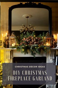 Christmas is coming and whatever your theme this year the one thing you do want to get right is decorating your fireplace mantel. But how do you make it look like the ones you see online and in magazines? Well I have all the answers for you, I'm going to help you dress your Christmas fireplace like a pro. Check out my guide on how to make a Christmas Fireplace Garland cheapy and easily and all for under £15! #raspberryflavouredwindows #christmas #christmasdecor