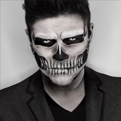 Alex Faction Halloween makeup