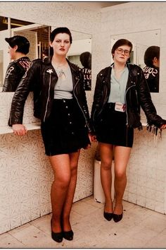 Quasi and Squasher, at the Royalty, Southgate, March 1981 (left). Kate and Friend, at the Royalty, Southgate, March 1981. | 28 Pictures Of Women From London's Lost '80s Subcultures
