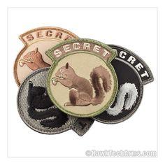 Secret Squirrel Morale Patch
