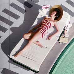 Mara Lane at the Sands Hotel, Las Vegas, 1954.