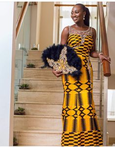 Kente styles is one of the most popular African dressing styles, with its popularity traced back to Ghana.To sum it up, we would prove that the Kente is BAE African Fashion Traditional, African Traditional Wedding, African Inspired Fashion, African Print Fashion, Non White Wedding Dresses, Queen Wedding Dress, African Wedding Dress, Robe Kente, Kente Dress