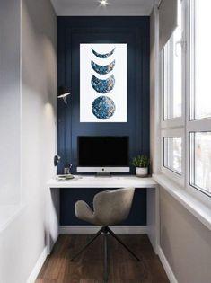 Design Room, Home Study Design, Pop Design, Deco Design, House Design, Design Desk, Home Office Space, Home Office Desks, Office Decor