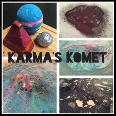Jorge's 'Karma's Komet' Cocktail Contains: 1 Intergalactic Bath Bomb 1/2 Karma Bubble Bar 1 Delight Bath Oil Video: ...