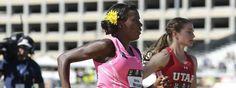 Alysia Montano completa embarazada de 34 semanas los 800 metros en el campeonato nacional de atletismo de EE.UU.
