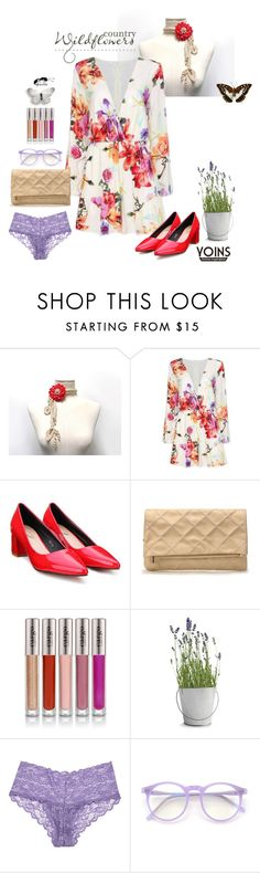 """""""Country Wildflowers"""" by ixela ❤ liked on Polyvore featuring CARGO, Potting Shed Creations, Cosabella and country"""