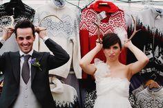Cool quirky purple hued DIY wedding in Italy - Bridal Musings Wedding Blog