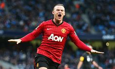 Manchester United striker Wayne Rooney shows why he is Sir Alex Ferguson's most important player in derby win Manchester United Legends, Manchester United Players, Wayne Rooney, Old Trafford, Bryan Robson, Chelsea, Good Soccer Players, Soccer Teams, Transfer Rumours