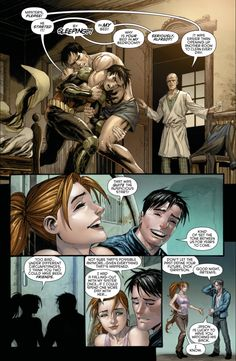 Dick Grayson relates how he met Jason Todd to Artemis (Red Hood and the Outlaws Vol. 2 Annual #1) - Part 5