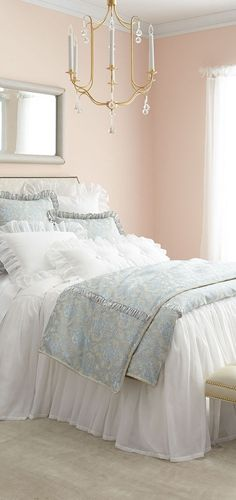 Sweet Dreams Bedding Sweet Dreams Bedding Cohesive DIY Home Decor Ideas Pink Bedding, Luxury Bedding Sets, Sweet Dreams Beds, Country Bedroom Design, Living Room Decor, Bedroom Decor, Room Partition Designs, Simple Closet, Woman Bedroom