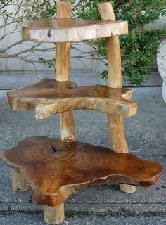 Teak Wood Shelves Furniture from Bali Indonesia