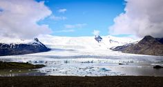 "This photo, titled ""Melting Glacier at Jokuldalur, Iceland 3"" is becoming an increasingly endangered sight. With global climate change, glac..."