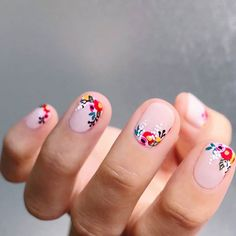 Nail art is one of many ways to boost your style. Try something different for each of your nails will surprise you. You do not have to use acrylic nail designs to have nail art on them. Here are several nail art ideas you need in spring!