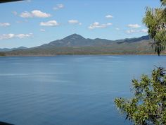 Lake Awoonga, at the town of Calliope, Queensland, Australia.
