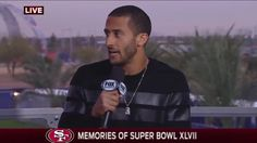 Colin Kaepernick Super Bowl XLIX Events