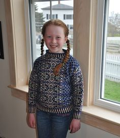 Ravelry: Child's Panel Gansey pattern by Alice Starmore
