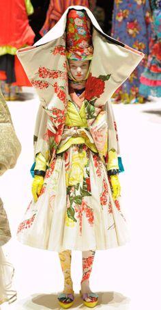 Kenzo, 2011- style inspiration