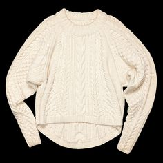 The most perfect sweater. [The Row wool and cashmere blouson sweater, $4,490 at Saks Fifth Avenue]