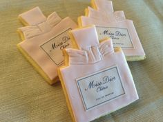 Miss Dior Cherie Cookies~               by Dolcecreativesweets, $46.00, pink, perfume