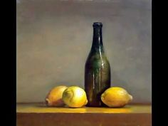 'Old master' style still life painting - YouTube