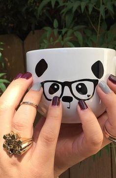 Panda Mug --- Haha, love it!
