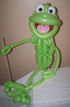 Kermit balloons soooo cool!