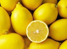 Lemons  Lemons are an excellent way to eliminate stains on white fabrics. Soak the stained area with pure lemon, cover it with salt, and lay it out under the sun. Once dried, rinse with water. This mix is also perfect for getting rid of rust, wine and ink stains.
