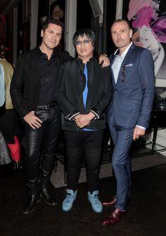 Master Chef Judges Claudio Aprile, Alvin Leung and Michael Bonacini, photo George Pimentel