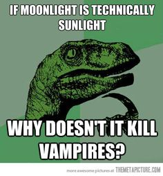 dinosaur+questioning+ | Very Cool Question About Vampires Funny Dinosaur Picture - Funny ...