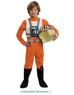 Star Wars X-Wing Fighter Pilot Halloween Costumes. Star Wars X-Wing Fighter Pilot costumes is a great choice for Star Wars fans for Halloween.
