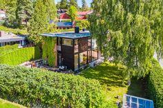 Villa Salotto på Vestre Holmen. Arkitekttegnet, innholdsrik enebolig med nydelig hage og meget attraktiv beliggenhet.   FINN.no