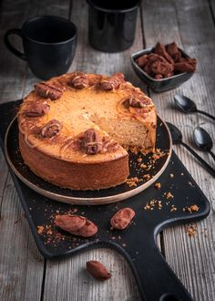 Something Sweet, Greek Recipes, Healthy Treats, Creative Food, Vegan Desserts, Let Them Eat Cake, Cheesecakes, Cake Recipes, Cake Decorating