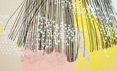 """Misato Suzuki, """"Aurora"""", Acrylic on Canvas, 2010"""