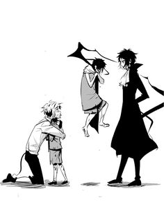 While Atsushi can accept who he was, Akutagawa detaches himself from his past. Anime Love, Anime Guys, Manga Anime, Anime Art, Stray Dogs Anime, Bongou Stray Dogs, Pokemon Comics, Fan Art, Anime Characters