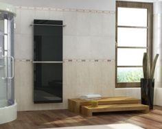 The bath towel warmer by InfraSWISS Towel Warmer, Bath Towels, Divider, Bathtub, Bathroom, Furniture, Home Decor, Standing Bath, Washroom
