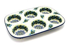 Polish Pottery Muffin Pan Ivy Trail *** You can find out more details at the link of the image.